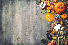 Halloween holiday background Stock Image
