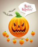 Halloween holiday card  Stock Photography