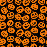 Halloween holiday, seamless background Stock Photos