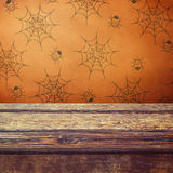 Halloween holiday table Stock Photography