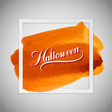 Halloween. Holiday Vector Illustration Royalty Free Stock Images