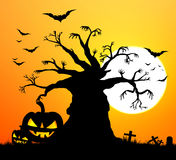 Halloween holidays abstract backgrounds. Halloween holidays silhouettes for backgrounds vector illustration