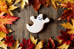 Halloween homemade gingerbread cookie Royalty Free Stock Images