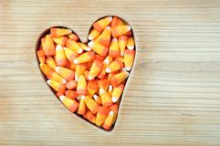 Halloween honey candy corn Stock Photography