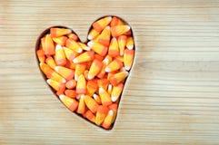 Halloween honey candy corn Stock Photography