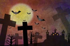 halloween horror ilustracji