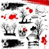 Halloween horror elements Stock Photos