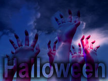 Halloween Horror Hands Stock Image