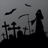 Halloween horror landscape Royalty Free Stock Images