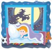 Halloween horror night Stock Image