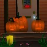 Halloween House Stock Image