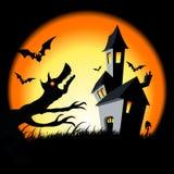 Halloween House Stock Photos