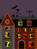 Halloween house Stock Photography