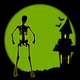 Halloween House Stock Photo