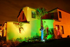 Halloween house. Taken in Tampa, Florida Stock Photography