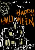 Halloween-huis Royalty-vrije Stock Foto