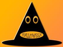Halloween-Hut lizenzfreie abbildung