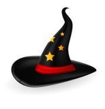 Halloween-Hut für Sie Design Lizenzfreies Stockfoto