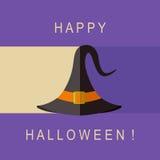 Halloween-Hutikone Lizenzfreie Stockbilder