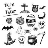Halloween icon cartoon stock illustration