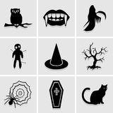 Halloween icon great for any use. Vector EPS10. Stock Photos