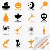 Halloween icon set Stock Photo