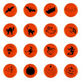 Halloween icon set Royalty Free Stock Photography