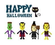 Halloween icon set. Royalty Free Stock Photography