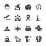 Halloween icon set, vector eps10 Stock Image