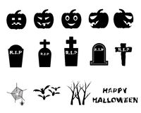 Halloween Icon Symbol Vector Royalty Free Stock Photo