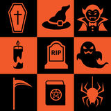 Halloween icon Royalty Free Stock Image
