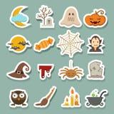Halloween Icons Stock Image