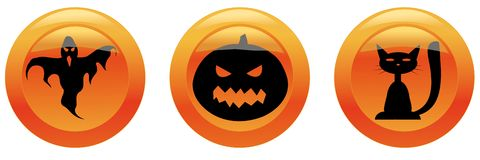 Free Halloween Icons Stock Photography - 6679992
