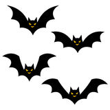 Halloween icons / bat. Simple and cute halloween vector icons vector illustration