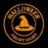 Halloween. Icons over black background vector illustration Royalty Free Stock Photography