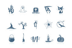 Halloween icons | Piccolo series Royalty Free Stock Photos