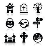 Halloween  icons set Stock Photo