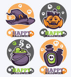 Halloween icons Stock Photo