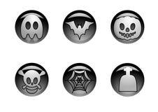 Halloween-Ikone Lizenzfreie Abbildung
