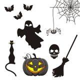 Halloween-Ikonen Lizenzfreie Stockfotografie