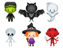 halloween ikony Fotografia Royalty Free