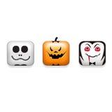 halloween ikony ustawiający wektor royalty ilustracja