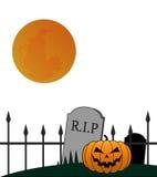 Halloween Illustartion Royalty Free Stock Photography