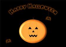 Halloween illustration Fotografering för Bildbyråer