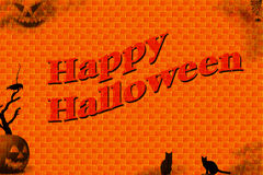 Halloween Illustration Royalty Free Stock Photos