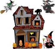 Halloween illustration Stock Photos