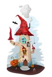 Halloween illustration Royalty Free Stock Photo