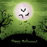 Halloween illustration. Royalty Free Stock Photography