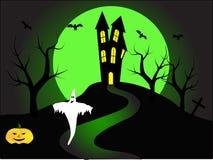 A Halloween illustration Stock Photo