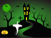 A halloween illustration Stock Image